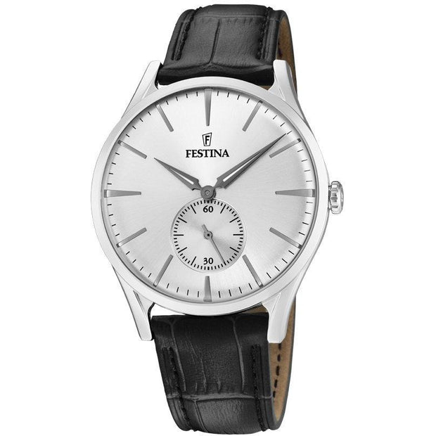 Festina Classic Leather Watch-COCOMI Australia