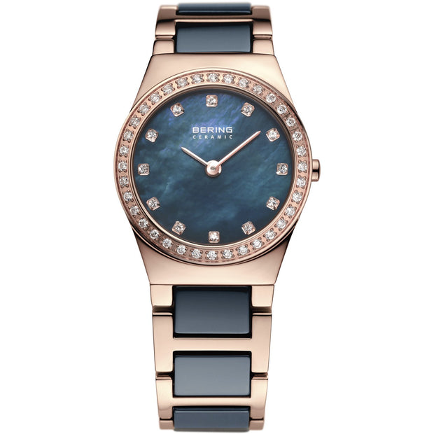 Bering Ceramic Rose Gold 26 mm Women's Watches 32426-767 - Bering
