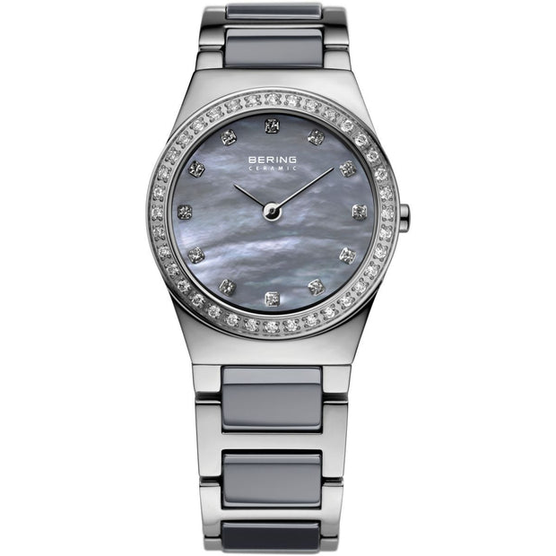 Bering Ceramic Silver 26 mm Women's Watches 32426-789 - Bering
