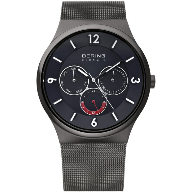 Bering Ceramic Grey 40 mm Men's Watches 33440-077 - Bering
