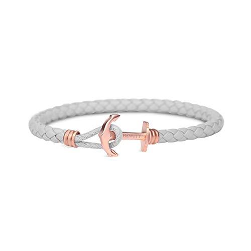 Paul Hewitt Anchor Bracelet PHREP Lite IP Rose Gold Grey L (19cm)-COCOMI Australia