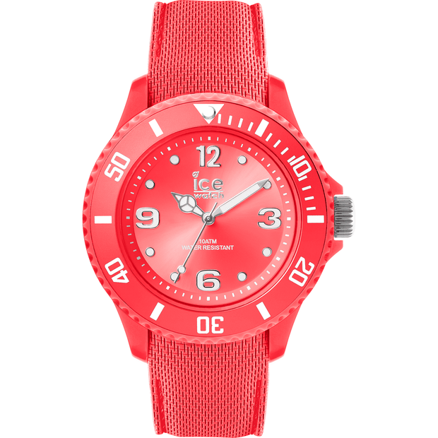 ICE WATCH Sixty Nine Collection Coral Case 34mm (S) Coral Dial Coral Strap-COCOMI Australia