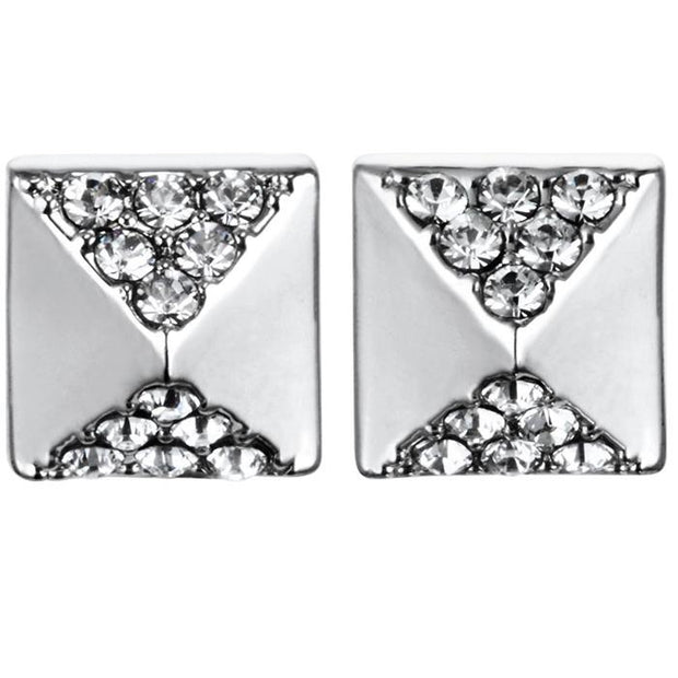 Karl Lagefeld Eiffel Tower CH  Rhodium Women's Earring (5378311)