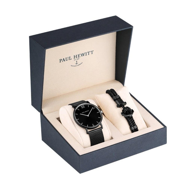 Paul Hewitt Perfect Match Black 36 mm Unisex Watches PH-PM-4-L-COCOMI Australia
