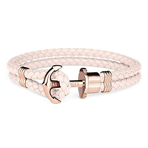 Paul Hewitt Anchor Bracelet PHREP IP Rose Gold Pink Rose XS