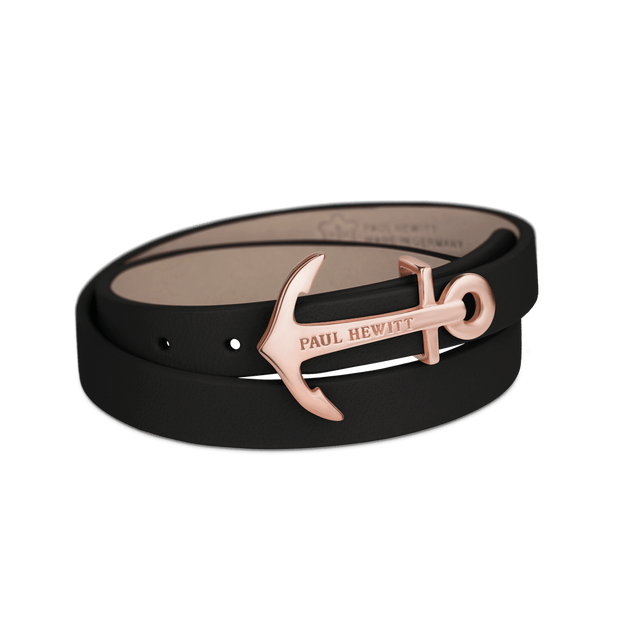 Paul Hewitt North Bound Rose Gold / Black Bracelet - S-COCOMI Australia