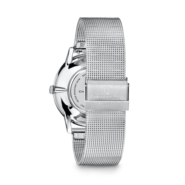 Christian Paul Claudia Silver 40 mm  Unisex's Watches 181CWS4020 - Christian Paul