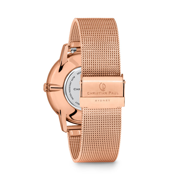 Christian Paul Ava  Rose Gold 40 mm  Women's Watches 181PWR4019 - COCOMI Australia