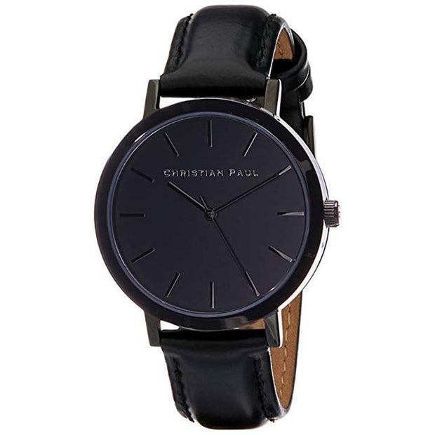 Christian Paul Night Sky Black 35 mm Women's Watches CBB3508