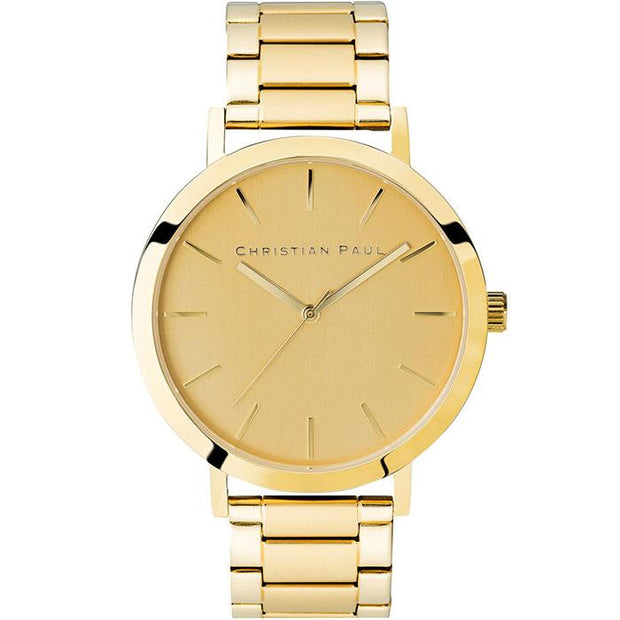 Christian Paul Golden Sky Gold 43 mm Unisex Watches CGG4325-COCOMI Australia