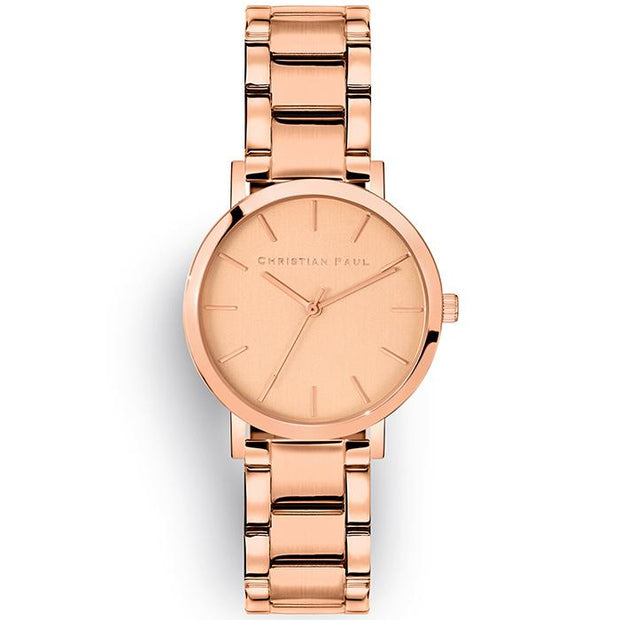 Christian Paul Rose Garden Rose Gold 35 mm Women's Watches CRR3523 - Christian Paul