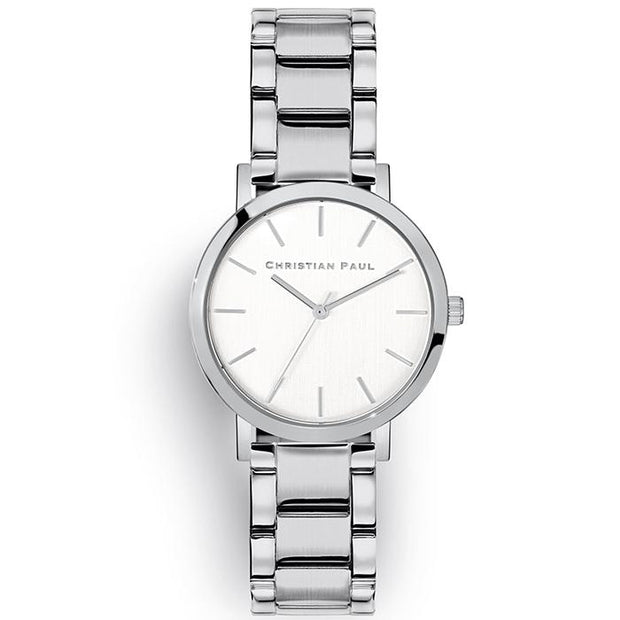 Christian Paul Crystal Eye Silver 35 mm Women's Watches CSS3524-COCOMI Australia