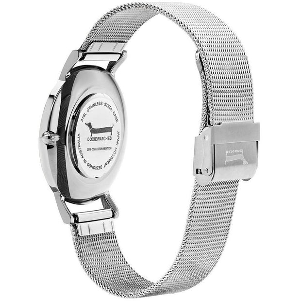 Doxie Frieda Silver 40 mm Women's Watches DX0502 - Doxie