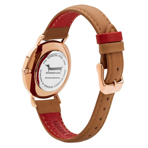 Doxie Ella Rose Gold 34 mm Women's Watches DXM0401 - Doxie