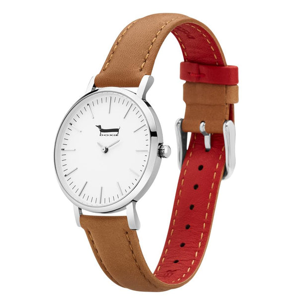 Doxie Oscar Silver 34 mm Women's Watches DXM0402 - Doxie