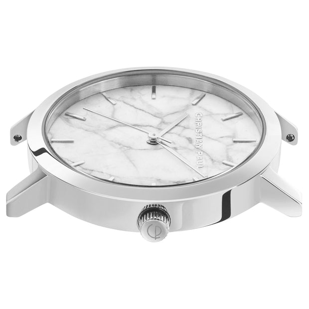 Christian Paul Whitehaven Silver 35 mm Women's Watches MWS3505 - Christian Paul