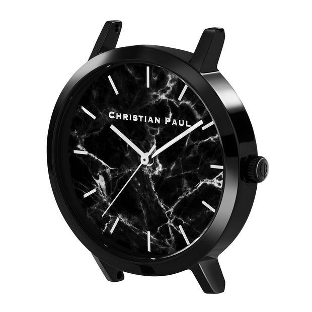 Christian Paul The Strand Black 35 mm Women's Watches MBB3518 - Christian Paul