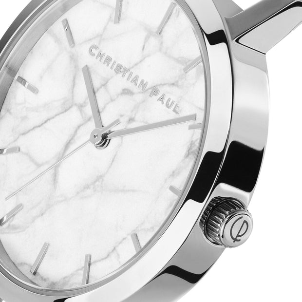 Christian Paul Whitehaven Silver 35 mm Women's Watches MWS3520 - Christian Paul