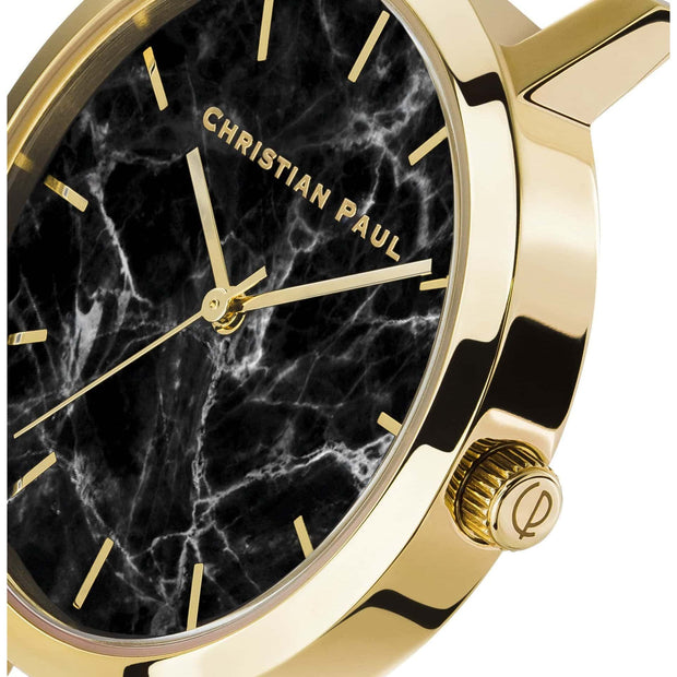 Christian Paul Brighton Gold 35 mm Women's Watches MBG3521 - Christian Paul