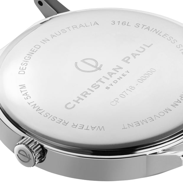 Christian Paul Whitehaven Silver 43 mm Women's Watches MWS4320 - Christian Paul