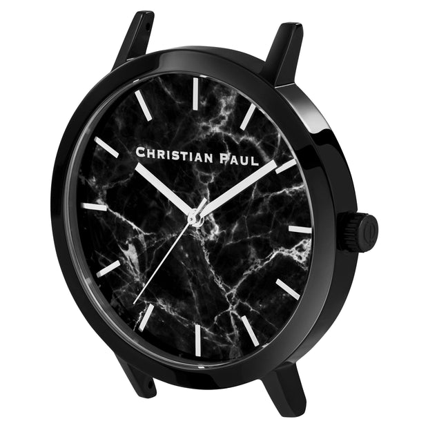 Christian Paul The Strand Black 43 mm Women's Watches MBB4301 - Christian Paul