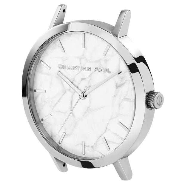 Christian Paul Whitehaven Silver 43 mm Women's Watches MWS4305 - Christian Paul