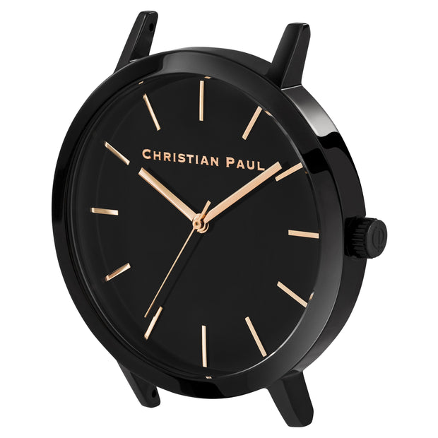 Christian Paul Raw Moonlight Black 43 mm Women's Watches RBB4314 - Christian Paul