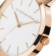 Christian Paul Raw Sunshine Rose Gold 43 mm Women's Watches RWR4319 - Christian Paul