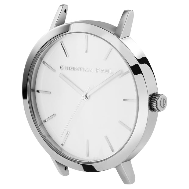 Christian Paul Raw Silver Silver 43 mm Women's Watches RWS4312 - Christian Paul