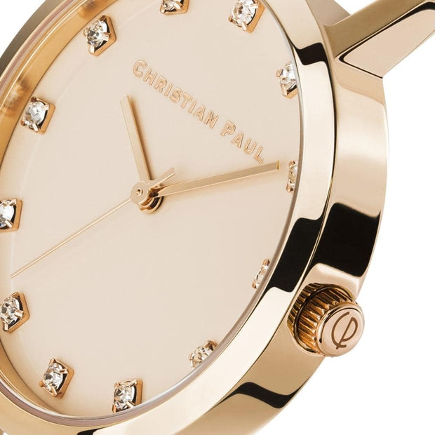 Christian Paul Luxe Deluxe Rose Gold 43 mm Women's Watches LPR4319 - Christian Paul