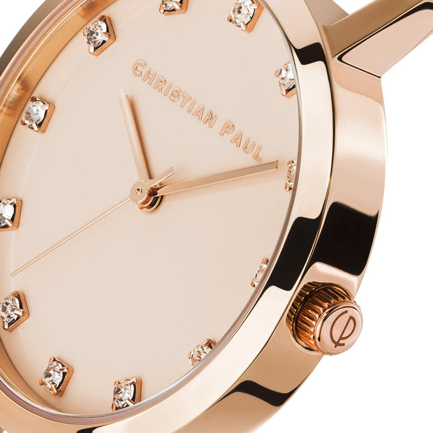Christian Paul Deluxe Rose Gold 35 mm Women's Watches LPR3506 - Christian Paul