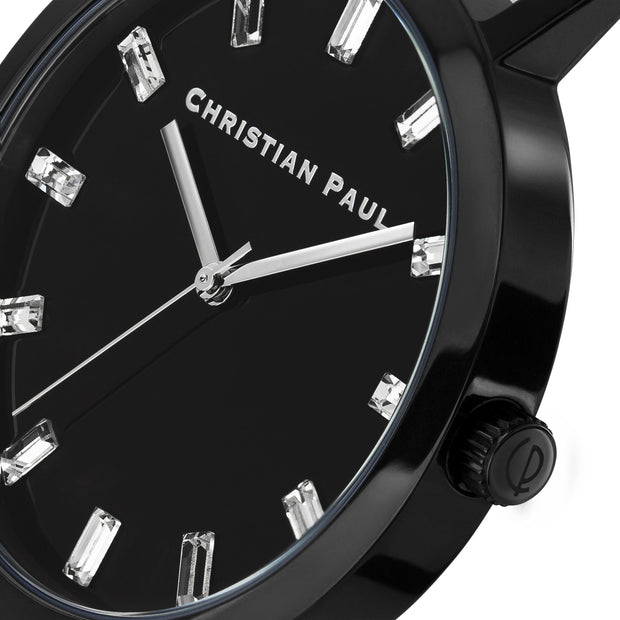 Christian Paul Night Black 35 mm Women's Watches LBB3501 - Christian Paul