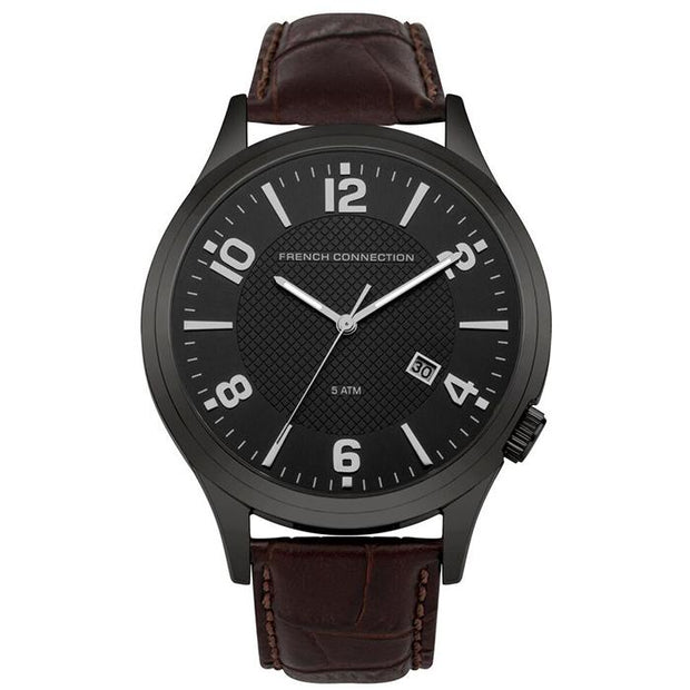 French Connection   44mm Men's Watch (FC1260TBA)