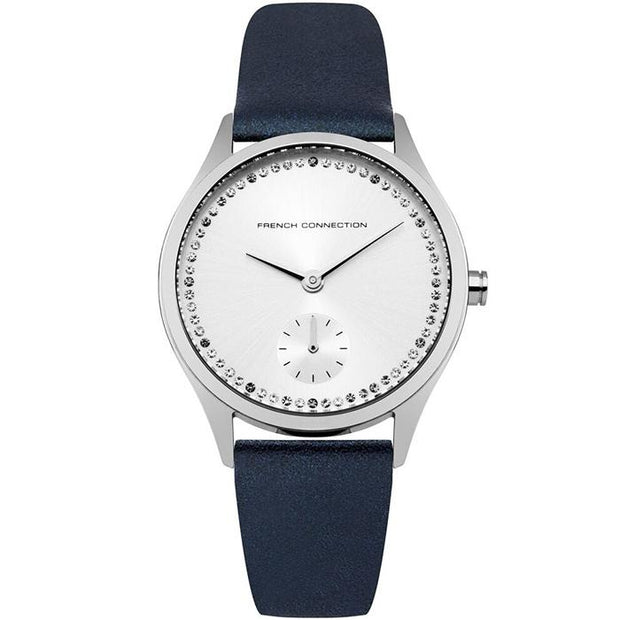French Connection Leather  Grey 35mm Women's Watch (FC1272U)