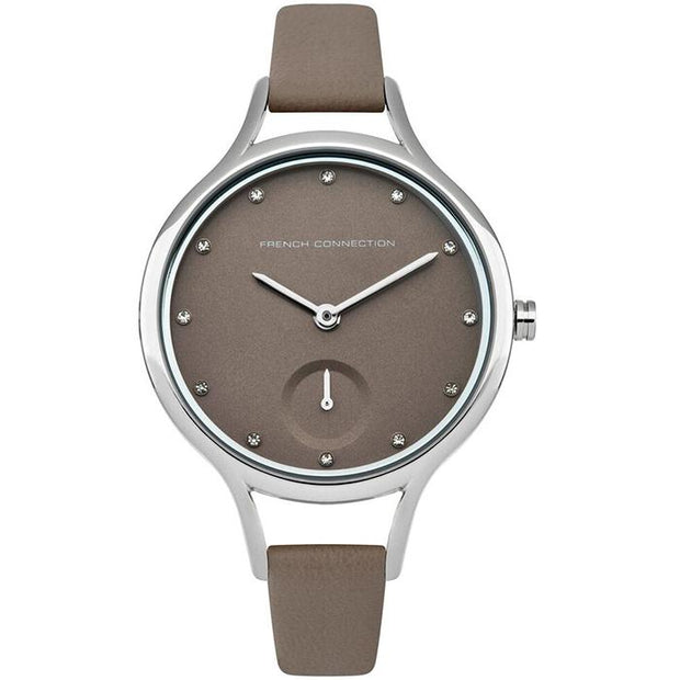 French Connection Mesh Two Tone 32mm Women's Watch (FC1274E)-COCOMI Australia