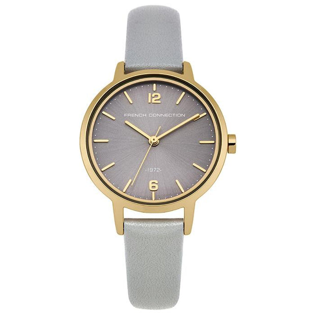 French Connection Metal  Silver 42mm Women's Watch (FC1280EG)