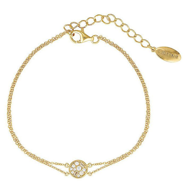 Georgini Mini Mosaic Gold Bracelet Women's IB176G