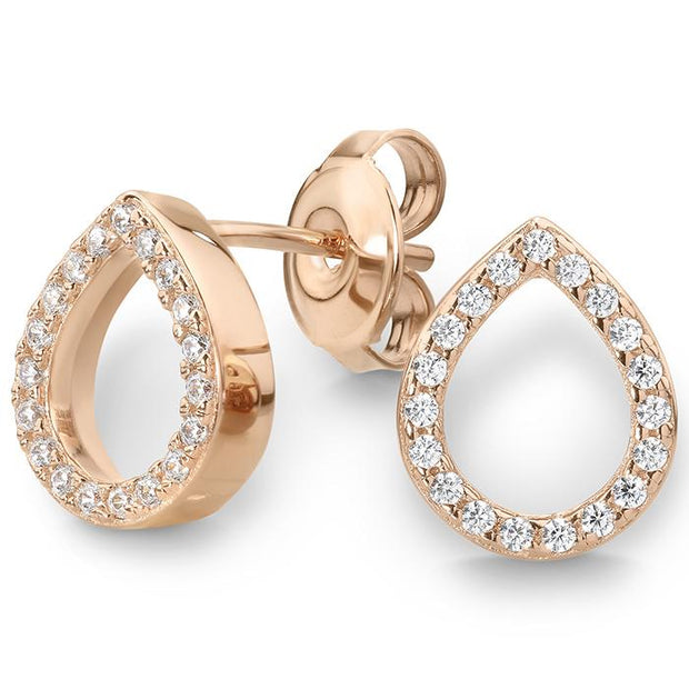 Georgini Omnia Rose Gold Stud Women's IE664RG