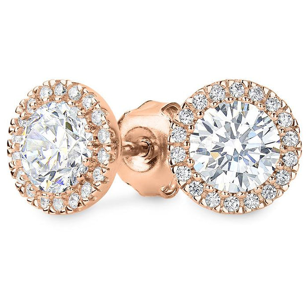 Georgini Yoyo Rose Gold Stud Earring Women's IE682RG