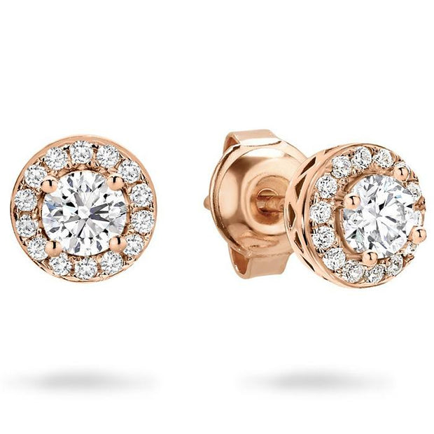 Georgini Petite Rose Gold Earrings Women's IE732RG-COCOMI Australia