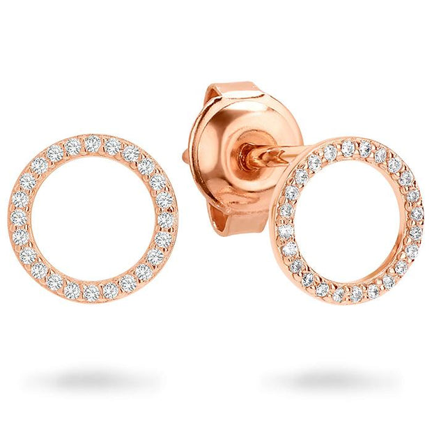 Georgini Ara Rose Gold Earring Women's IE742RG