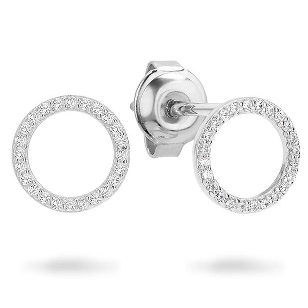 Georgini Ara Rhodium Earring Women's IE742W