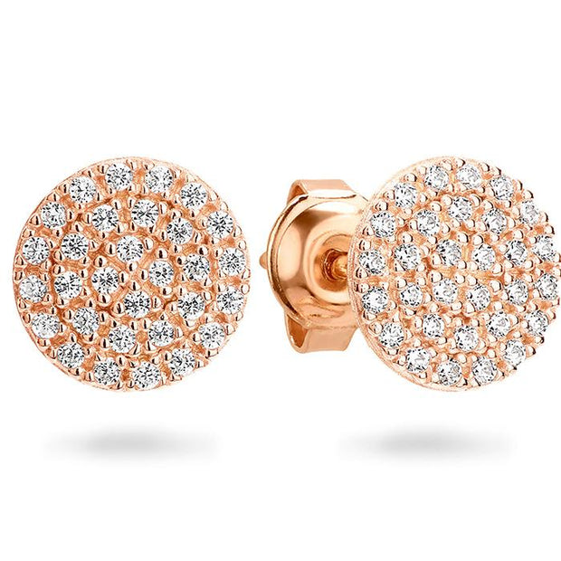 Georgini Pavo Rose Gold Earring Women's IE745RG