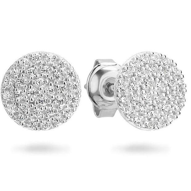 Georgini Pavo Rhodium Earring Women's IE745W