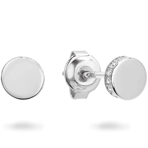 Georgini Micro Rhodium Earring Women's IE747W