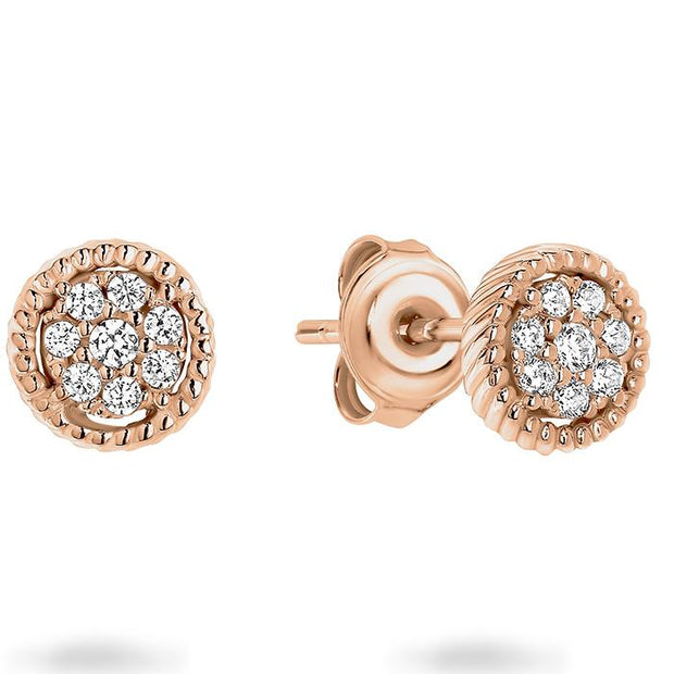 Georgini Mica Rose Gold Earring Women's IE763RG