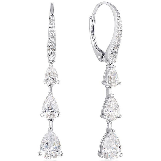 Georgini Chantelle Triple Teardrop Earring Women's IE822