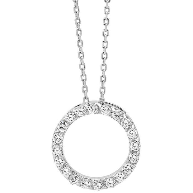 Georgini Small Circle Pendant Women's IP248