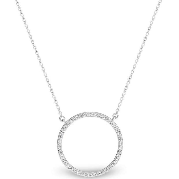Georgini Virgo Rhodium Pendant Women's IP709W