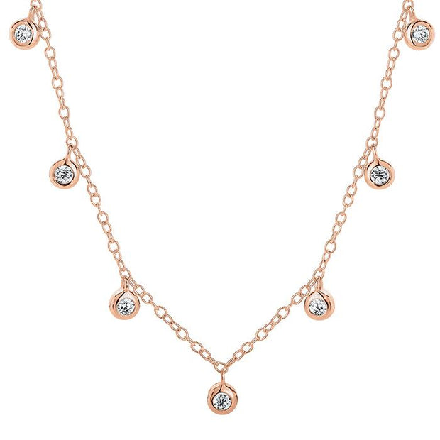 Georgini Luster Rose Gold Pendant Women's IP726RG